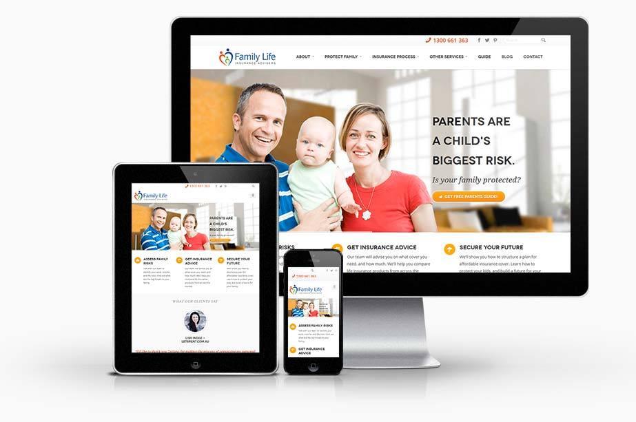 Life Insurance Adviser Website