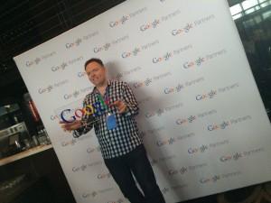 Darren at Google Masterclass