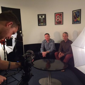 Webbuzz video production shoot