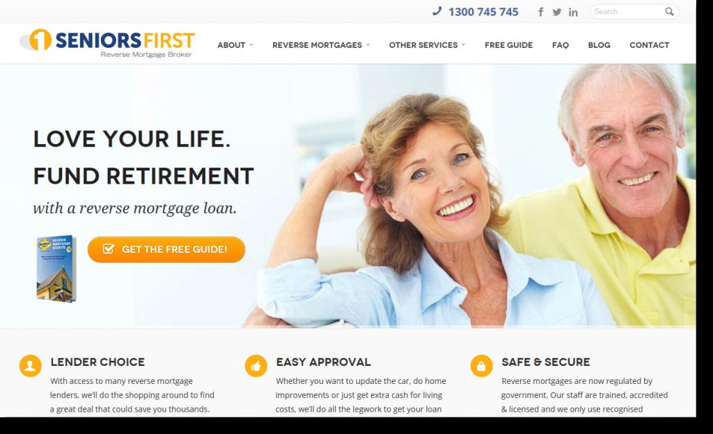 seniors first website 2014