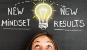 new-mindset-new-results-concept-on-blackboard-picture-id610548864