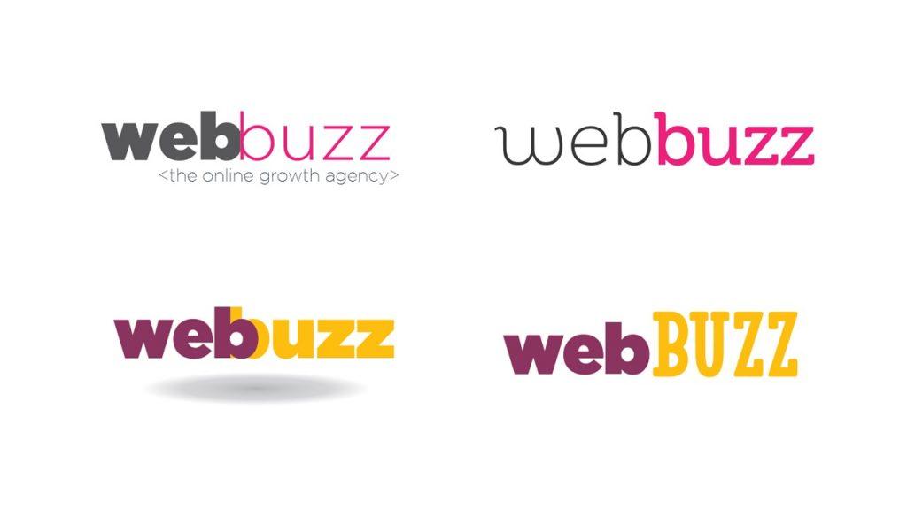 Business Logo Design: Creative Brand Development (updated case study) first logos 1 - July 18, 2019