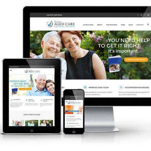 financial advice website by webbuzz