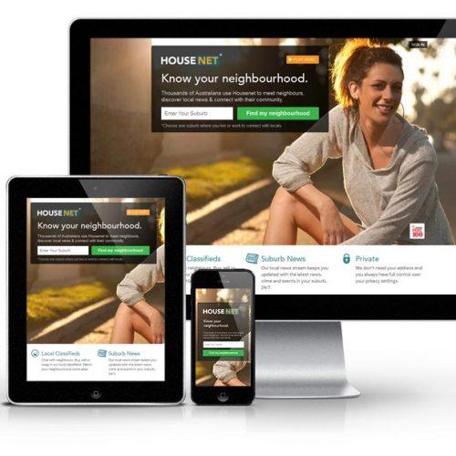 social networking website housenet