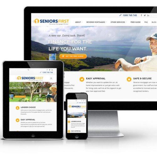 Reverse Mortgage Broker Website