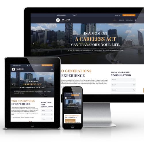 solicitor website design