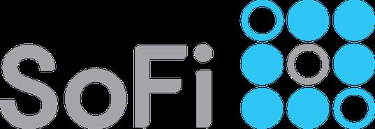 sofi fintech logo