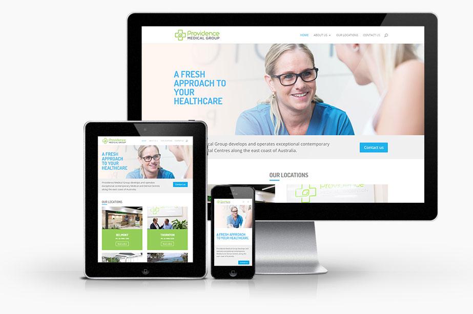 Web Design for Medical Centre