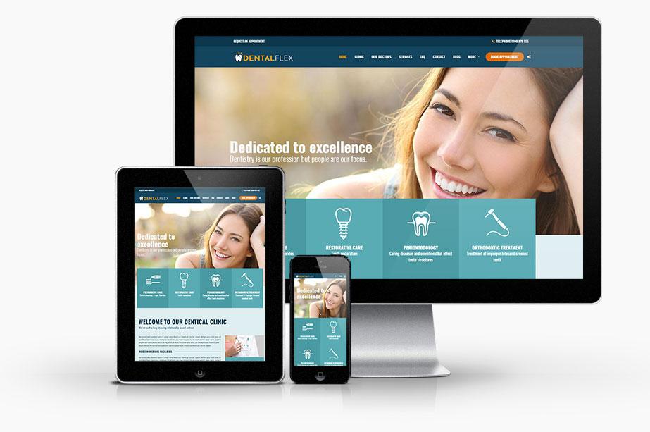 Medical Websites for Doctors Example Design