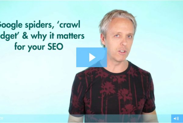Google spiders, 'crawl budget' & why it matters for your SEO google spiders 2 » December 13, 2019