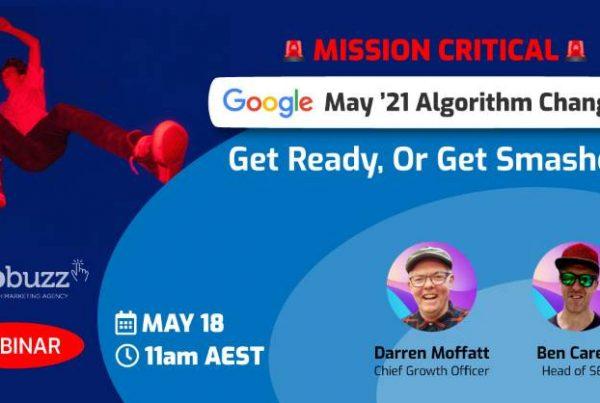 [WEBINAR] Google May '21 Algorithm Changes: Get Ready, Or Get Smashed! download 3 » September 28, 2021